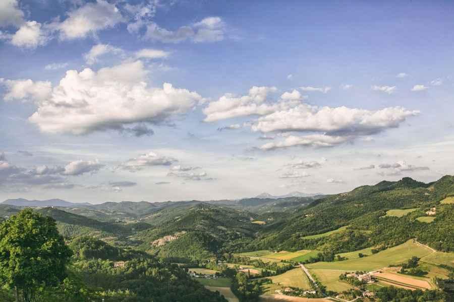 La Locanda del Capitano a Montone in alta valle del Tevere in Umbria