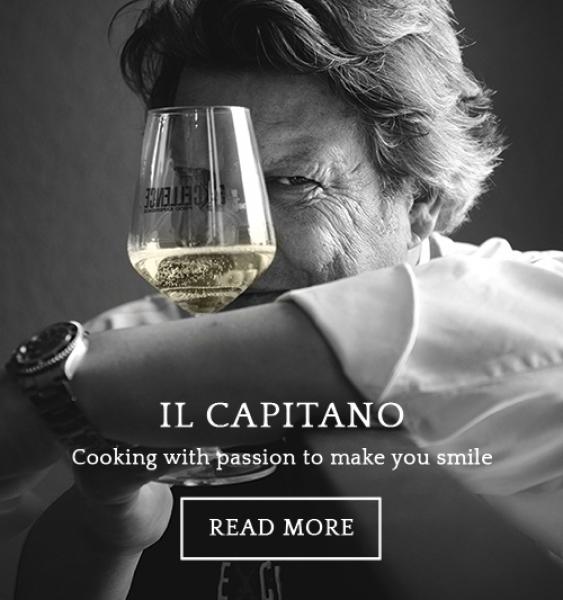 Chef Giancarlo Polito La Locanda del Capitano restaurant in Montone, Perugia, Umbria