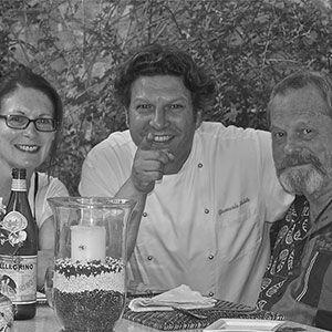 Vacanze a Montone Albergo Ristorante La Locanda del Capitano. Ospiti con lo Chef Giancarlo Polito