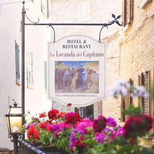 La Locanda del Capitano Boutique hotel Montone. Chef Giancarlo Polito