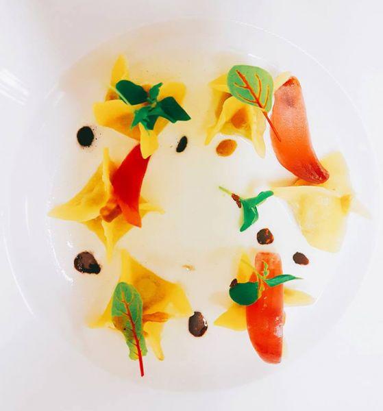 Menu gourmet con pasta fatta a mano ristorante Montone Chef Giancarlo Polito