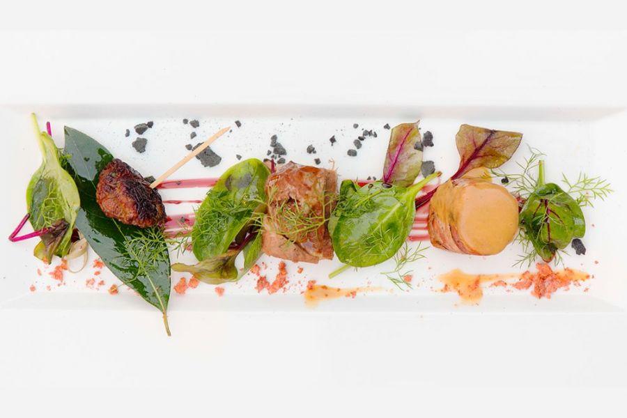 Ristorante a Perugia alta cucina Chef Giancarlo Polito ristorante La Locanda del Capitano Montone