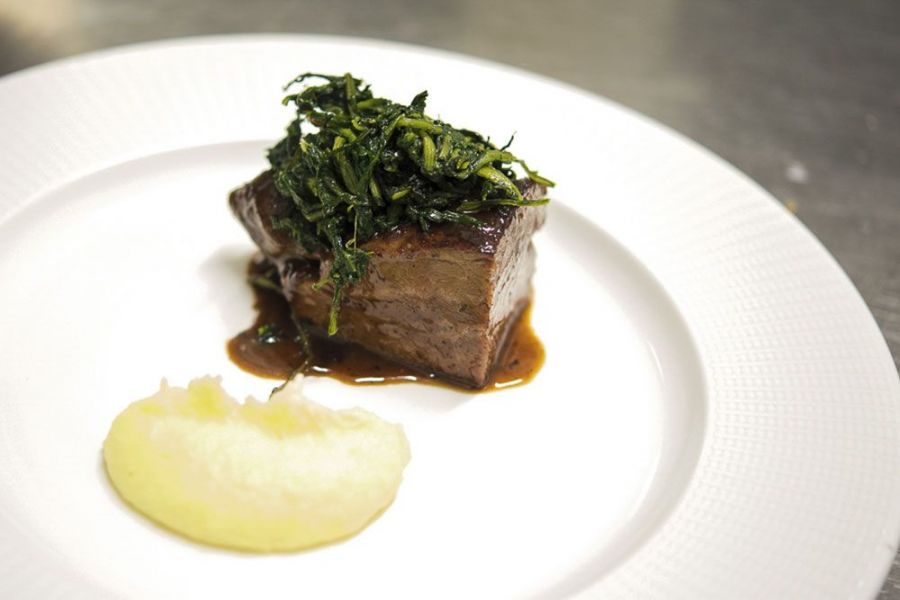 Menu degustazione carni di alta qualità di allevamenti umbri. Chef Giancarlo Polito