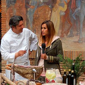Sereno Variabile intervista Giancarlo Polito alla Locanda del Capitano a Montone. Ristoranti Perugia