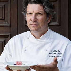 Dove mangiare a Perugia. Cucina & Vini dedica la coperina allo Chef Giancarlo Polito de La Locanda del Capitano a Montone