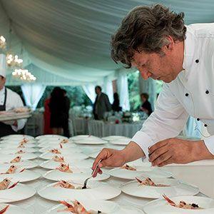 Organizzazione eventi, catering e matrimoni in Umbria. Il Capitano, Giancarlo Polito chef della Locanda del Capitano Montone, Perugia