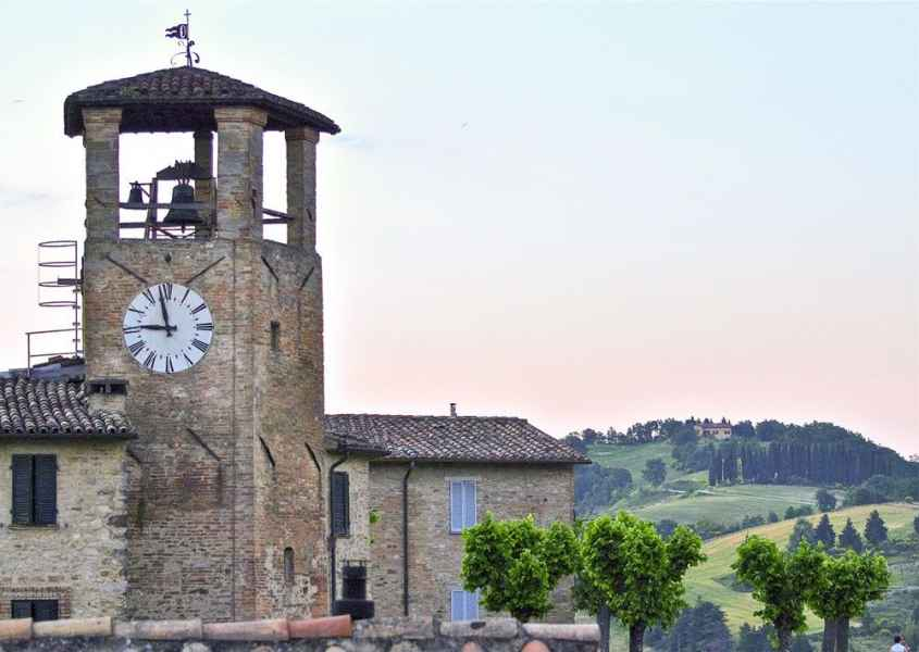 La Locanda del Capitano hotel restaurant in Montone medieval small village in Umbria