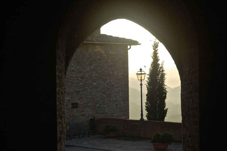 Montone the most beautifull small village of Italy in Umbria. Italy Holidays