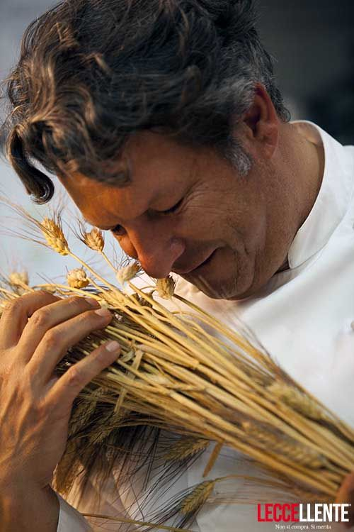 The cuisine must be simple, a few ingredients but well used, says Giancarlo Polito. Gourmet Restaurant in Montone, Umbria - Italy